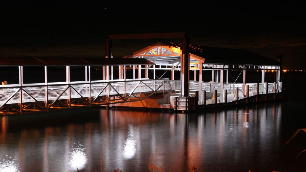One Mile Public Ferry Pontoon