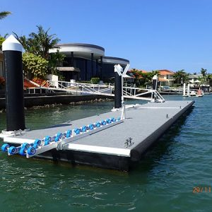 Dingy Roller System