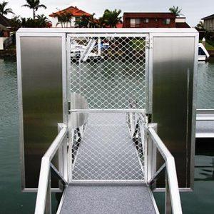 Lockable Gate